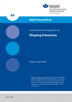 Accident Prevention Regulations for Shipping Enterprises