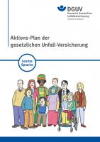 Aktions-Plan der gesetzlichen Unfall-Versicherung in Leichter Sprache