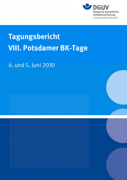 Tagungsbericht VIII. Potsdamer BK-Tage