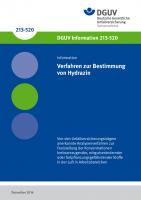 Verfahren zur Bestimmung von Hydrazin