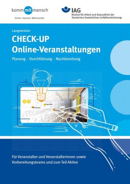CHECK-UP Online-Veranstaltungen: Planung, Durchführung, Nachbereitung - Langversion