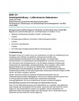 Arbeitsplatzlüftung - Lufttechnische Maßnahmen