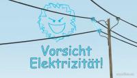 """Napo in """"Vorsicht Elektrizität"""""""