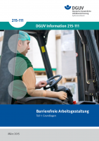 Barrierefreie Arbeitsgestaltung - Teil I: Grundlagen
