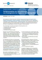 """FBFHB-020 """"Verfahrensweise zur Durchführung von Anzeigetests bei tragbaren Gaswarngeräten"""""""