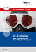 Auswahl und Benutzung von Laser-Schutz- und Justierbrillen