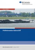 Prüfinformation Güterschiff