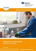 Tätigkeiten mit Gefahrstoffen - Informationen für Beschäftigte