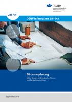Büroraumplanung - Hilfen für das systematische Planen und Gestalten von Büros