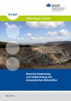 Branche Gewinnung und Aufbereitung von mineralischen Rohstoffen
