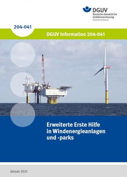 Erweiterte Erste Hilfe in Windenergieanlagen und -parks