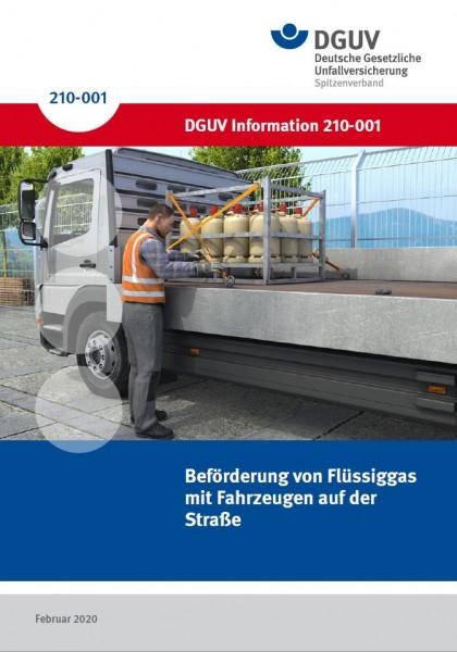 Beförderung von Flüssiggas mit Fahrzeugen auf der Straße