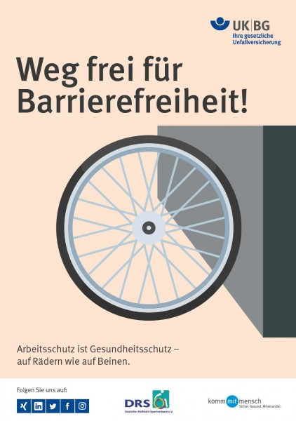 Weg frei für Barrierefreiheit!