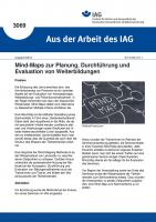 Mind-Maps zur Planung, Durchführung und Evaluation von Weiterbildungen (Aus der Arbeit des IAG Nr. 3069)