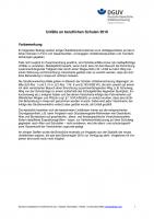 Unfälle an beruflichen Schulen 2010