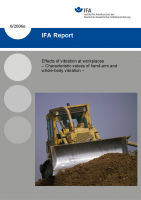 Effects of vibration at workplaces – Characteristic values of hand-arm and whole-body vibration