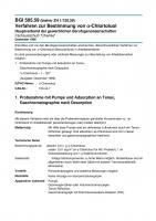 Verfahren zur Bestimmung von a-Chlortoluol