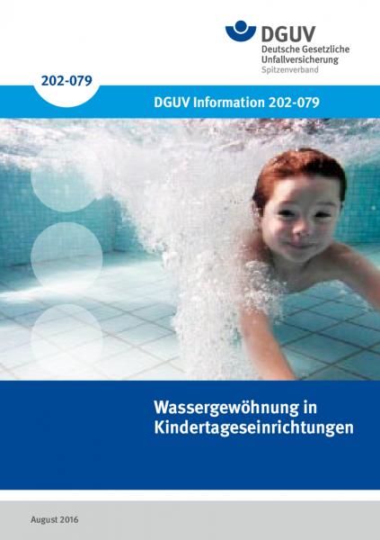 Wassergewöhnung in Kindertageseinrichtungen