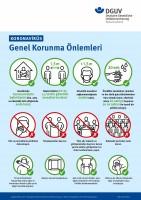 Koronavirüs - Genel Korunma Önlemleri