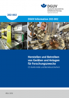 Herstellen und Betreiben von Geräten und Anlagen für Forschungszwecke