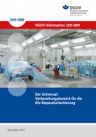 Der Universal-Vorbereitungsbereich für die Kfz-Reparaturlackierung