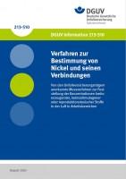 Verfahren zur Bestimmung von Nickel und seinen Verbindungen