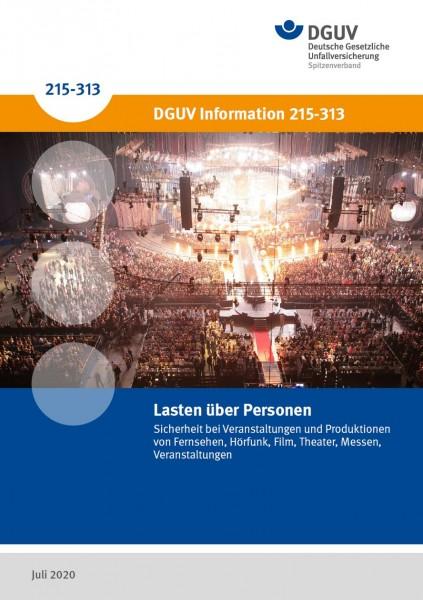 Lasten über Personen – Sicherheit bei Veranstaltungen und Produktionen von Fernsehen, Hörfunk, Film,