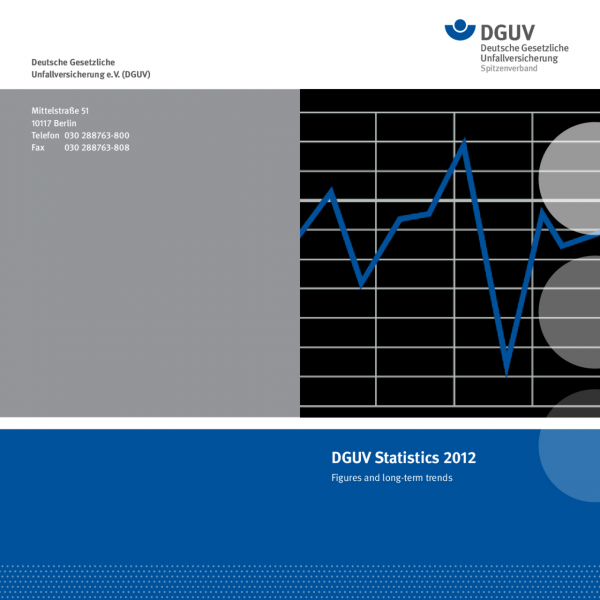 DGUV Statistics 2012 Figures and long-term trends