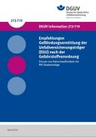 Empfehlungen Gefährdungsermittlung der Unfallversicherungsträger (EGU) nach der Gefahrstoffverordnung - Einsatz von Kaltschweißmitteln für PVC-Bodenbeläge