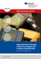 Wiederkehrende Prüfungen elektrischer Anlagen und ortsfester elektrischer Betriebsmittel – Fachwissen für Prüfpersonen