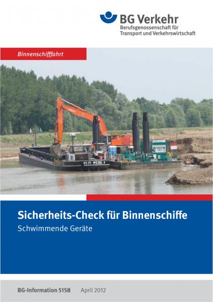 Sicherheits-Check für Binnenschiffe, Schwimmende Geräte