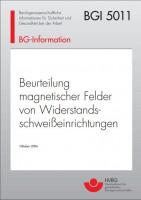 Beurteilung magnetischer Felder von Widerstandschweißeinrichtungen