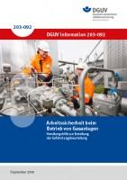 Arbeitssicherheit beim Betrieb von Gasanlagen