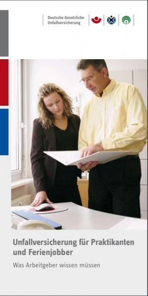 Unfallversicherung für Praktikanten und Ferienjobber