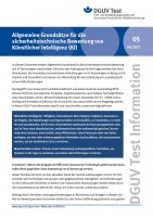 Allgemeine Grundsätze für die sicherheitstechnische Bewertung von Künstlicher Intelligenz