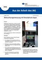 Beleuchtungsmessung mit Smartphone-Apps (Aus der Arbeit des IAG Nr. 3092)