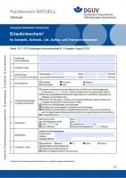 """FBFHB-008 """"Erlaubnisschein für Schweiß-, Schneid-, Löt-, Auftau- und Trennschleifarbeiten"""""""
