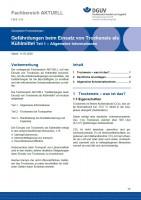 """FBHL-016 """"Gefährdungen beim Einsatz von Trockeneis als Kühlmittel Teil 1 – Allgemeine Informationen"""""""
