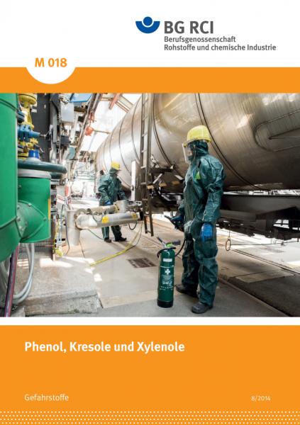 """Phenol, Kresole und Xylenole (Merkblatt M 018 der Reihe """"Gefahrstoffe"""")"""