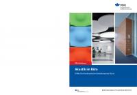 Akustik im Büro - Hilfe für die akustische Gestaltung von Büros