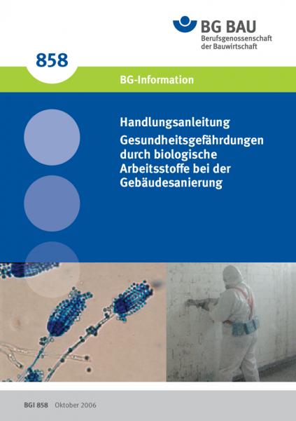 Handlungsanleitung Gesundheitsgefährdung durch biologische Arbeitsstoffe bei der Gebäudesanierung
