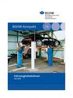 Fahrzeughebebühnen (Merkblatt M 38)