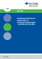 Handlungsanleitung zur Anpassung von Hochspannungsanlagen - DIN VDE 0101 (05/89) -